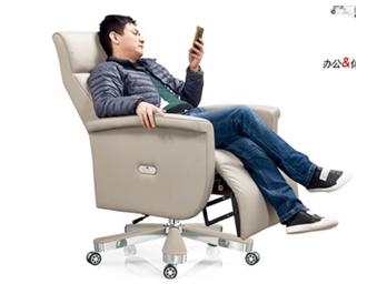 现代老板椅ZG-XDLBY-018
