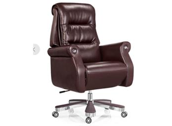 现代老板椅ZG-XDLBY-014