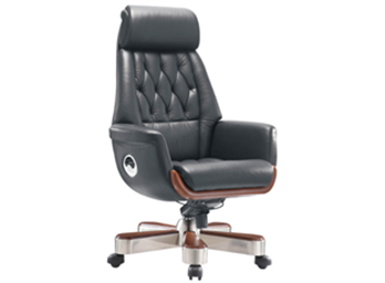 现代老板椅ZG-XDLBY-003
