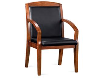 实木会议椅ZG-SMY-011